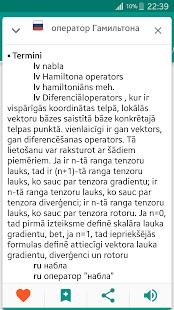 Русско-латышский и Латышско-русский офлайн словарь Ekran Görüntüsü