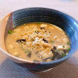 Vegan Miso Ramen Soup.