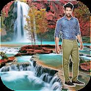 Waterfall Photo Frames APK icon