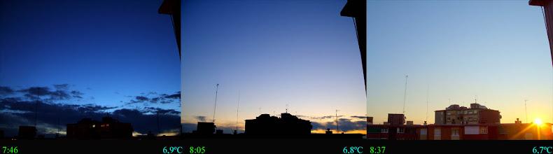 Photo: Amanecer del 13/01/10