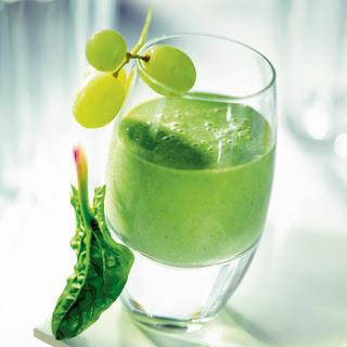 Grape-milk Cocktail