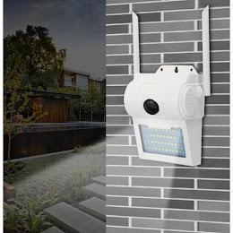 Camera video de supraveghere IP Wireless cu lampa 32 LED