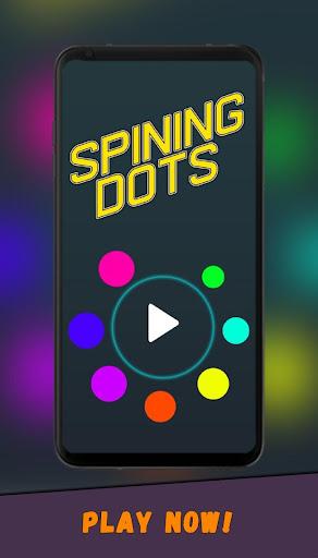 Spin Dot Circle  captures d'u00e9cran 1