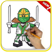 Tải Game How To Color Lego Ninja Coloring game for adult
