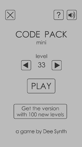Code Pack Mini 1.0.1 screenshots 1
