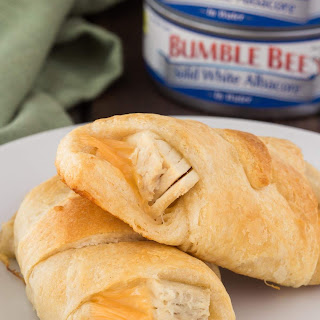 Easy Tuna Melt Crescent Rolls Recipe