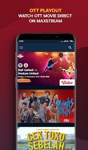 MAXstream- Live Sports,TV, & Movies Screenshot