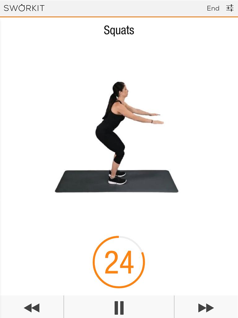 Sworkit: Workouts & Fitness Plans Screenshot 8