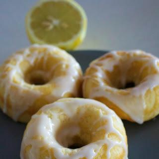 Lemon Baked Doughnut