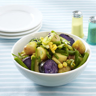 Green Bean, Corn and Potato Salad