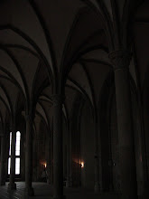 Photo: The archwork in the Salle Des Hotes, where visitors of nobility were received.