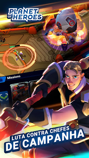 Planet of Heroes Moba Mágico
