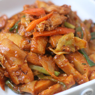 Extreme Pepper Chicken Stir Fry