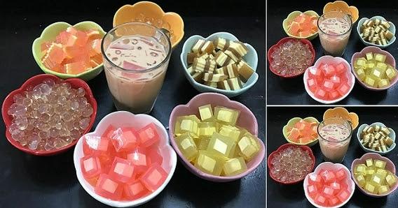 Cách làm trà sữa và các loại thạch dẻo ngon, ngọt mát tại nhà
