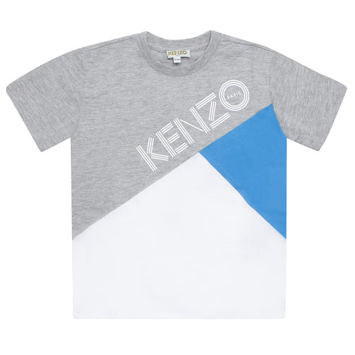 Primary image of Kenzo Kids Colour-block T-shirt