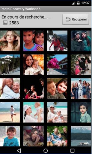 استرجاع الصور المحذوفة من الهاتف بطريقة سهلة screenshot 1