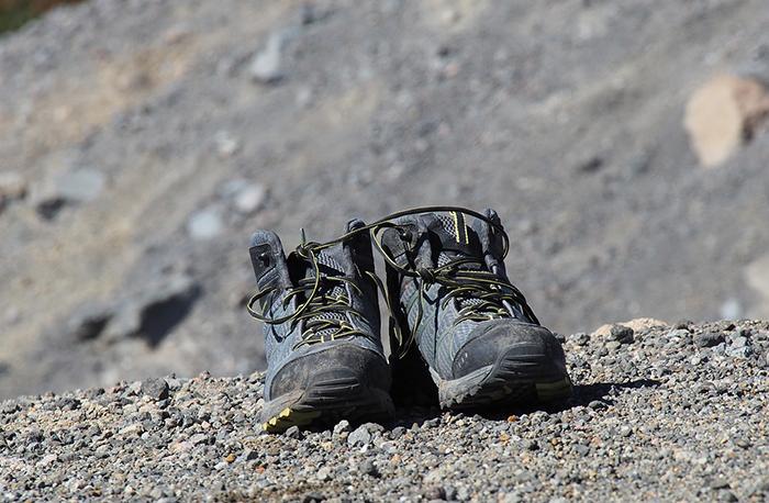 Nevado Rajuntay: Zapatillas Montaña