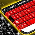 Красный рубин Keyboard Skin icon