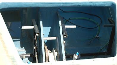 Photo: N753CZ Cozy MK-IV Rudder Pedal & Nose Gear Retract Detail