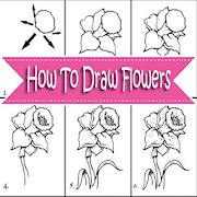 كيفية رسم الزهور APK