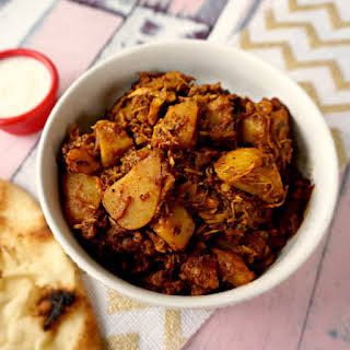 Indian Chicken and Potato Stew.