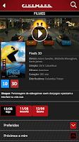 Screenshot of Cinemark Brazil