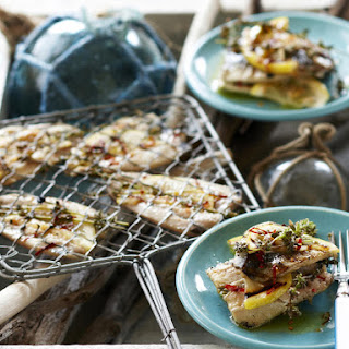 Grilled Sardines with Lemon and Thyme Recipe