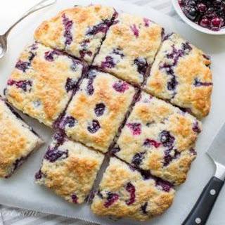Blueberry Buttermilk Biscuits.