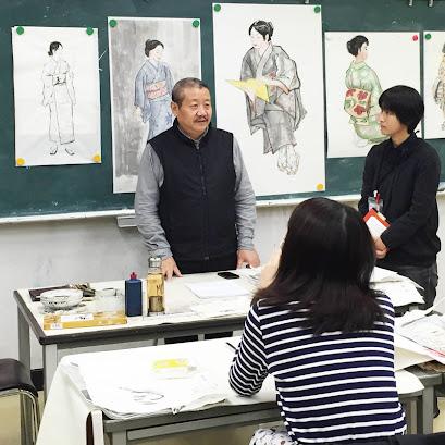 【中国水墨画科】中央美術学院から徐仲偶先生が来日し、写意人物画の指導をいただきました。