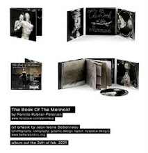 Photo: THE BOOK OF THE MERMAID CD-cover photography, graphic design & layout, 2009. © visual artworks & photos by jean-marie babonneau all rights reserved. www.betterworldinc.org  Pack-shots of finished CD-packaging with 40-page booklet.