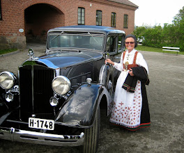 Photo: Berit Stenersen Aga, docent at historical sites in Norway