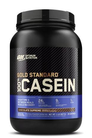 Optimum Nutrition 100% Gold Standard Casein 908g - Strawberry