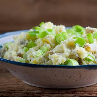 Warm Mashed Potato Salad.