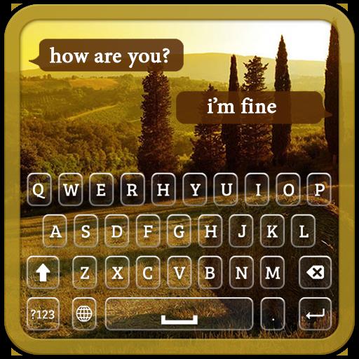 Landscape Keyboard Theme