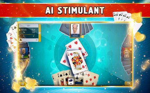 Belote Offline - Single Player Card Game screenshots 7