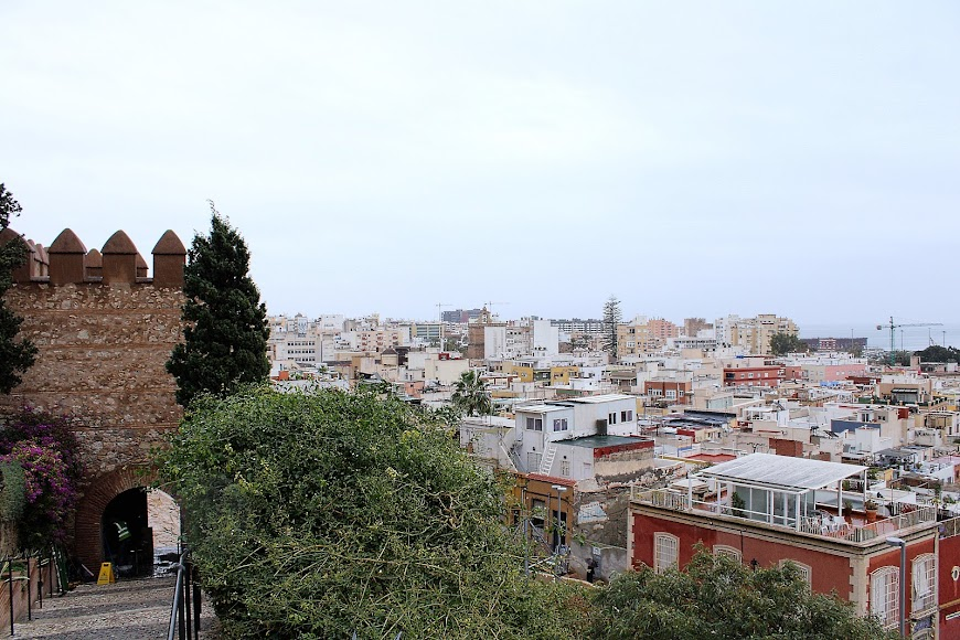 La ciudad vista desde la Alcazaba en la 3ª ola de la pandemia.