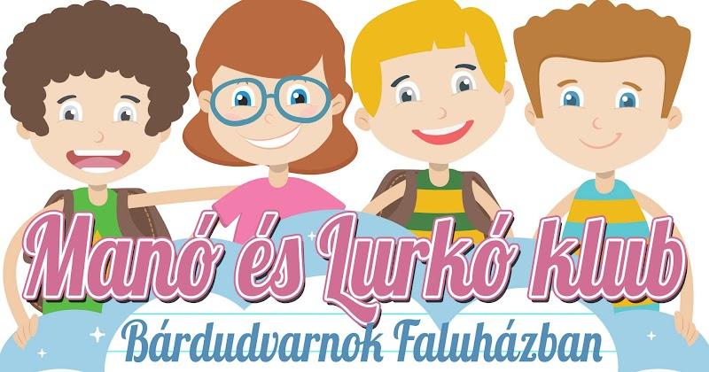 Manó klub és Lurkó klub a Faluházban 2018 január