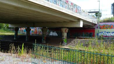 Photo: Blickrichtung Donau (A40 Tunnel)