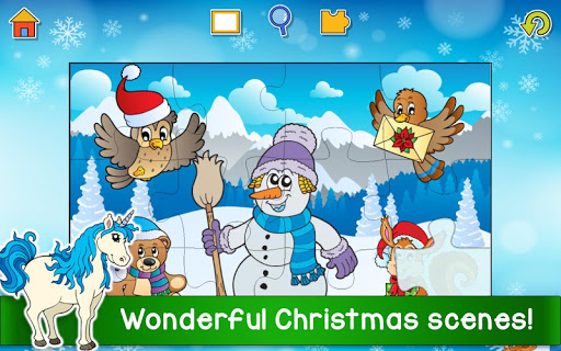 Christmas Puzzle Games - Kids Jigsaw Puzzles ud83cudf85 25.1 screenshots 4