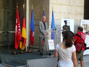 Photo: discours de Patrick Dzierzon Consul général adjoint d'Allemagne