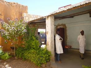Photo: binnenkoer medisch centrum