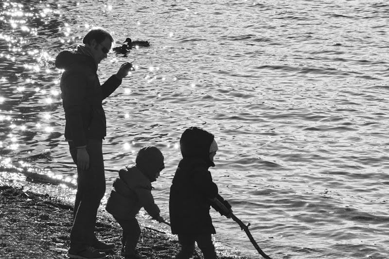 al lago con papà di aeglos