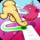 Follow the Line Monster Run: Finger Race 2D Deluxe (game)