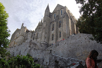 Photo: BRETANYA 2013. MONT SAINT-MICHEL (Normandia ). Abbaye