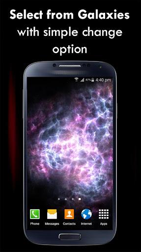 Galaxy Live Wallpaper 3D
