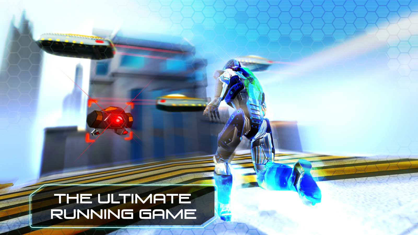 RunBot Rush - Running Game- screenshot