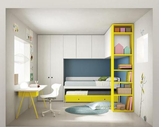 寝室の家具のアイデア