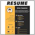 Resume Builder - CV Maker & Template, Formats, PDF icon