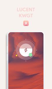 Lucent KWGT – Translucence Based Widgets Paid 3.3 Latest Mod APK Free Download 5