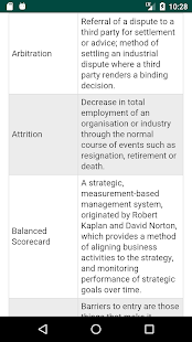 Glossary of Management Terms - náhled